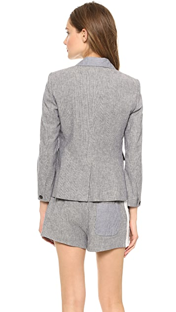 Rag & Bone Nancy Striped Blazer