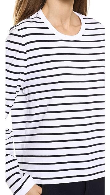 Rag & Bone Boy Long Sleeve Stripe Tee