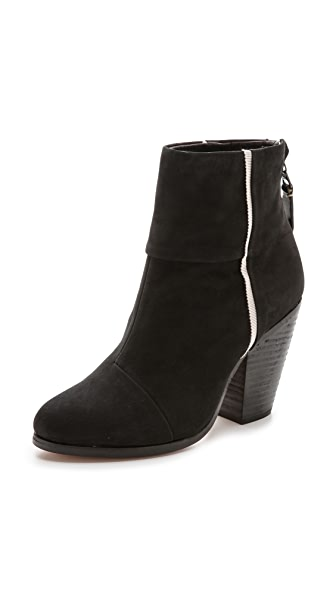 Rag & Bone Classic Newbury Booties with Piping