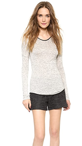 Rag & Bone Spine Long Sleeve Tee
