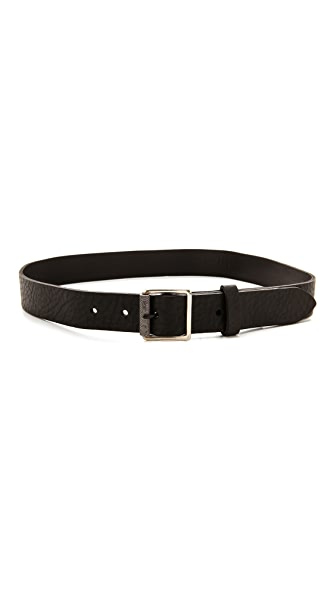 Rag & Bone Textured Buckle Belt