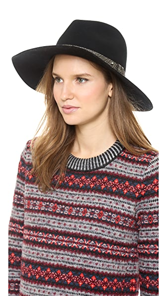 Rag & Bone Wide Brim Fedora