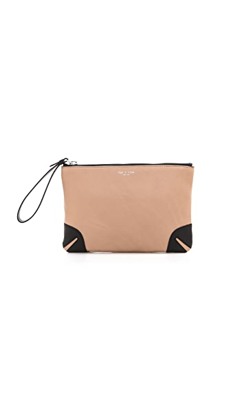 Rag & Bone Flat Zip Clutch