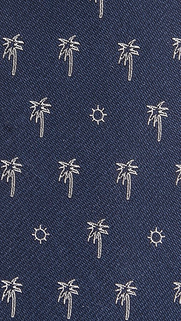 Rag & Bone Palm Tree Tie