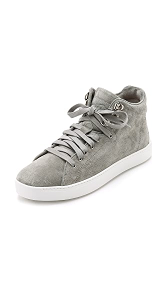 Rag & Bone Kent Suede High Top Sneakers