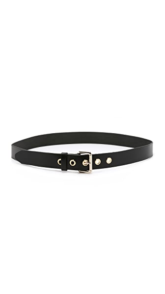 Rag & Bone Classic Eyelet Belt