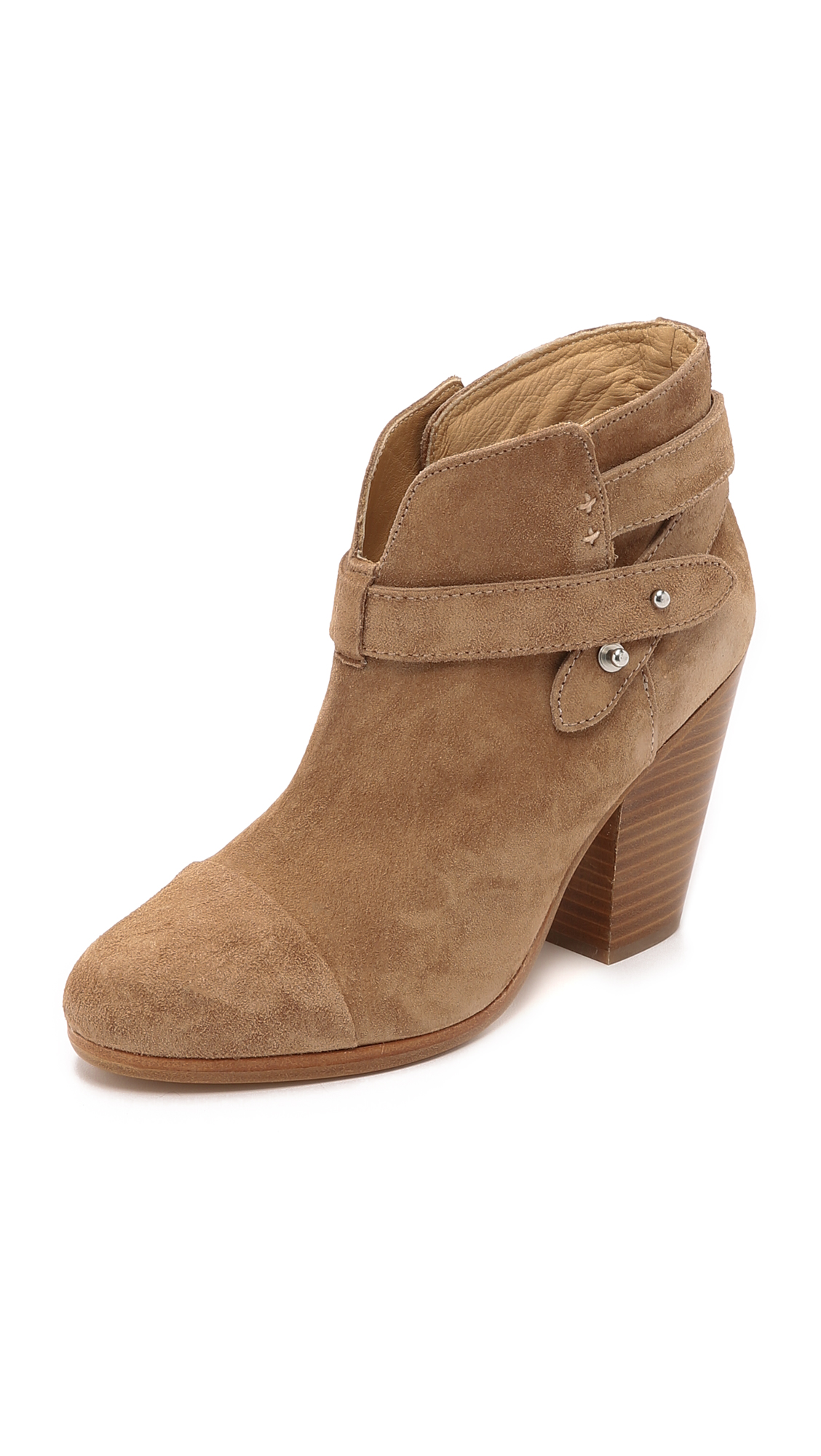 Rag & Bone Harrow Booties - Camel