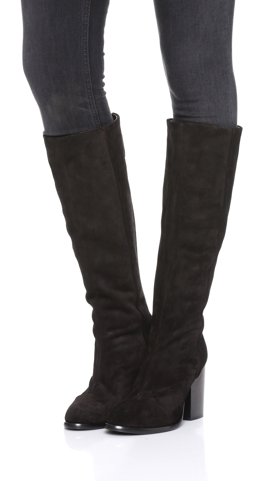 Rag & Bone Suede Knee-High Boots clearance choice buy cheap Manchester free shipping hot sale 1vH6BjC