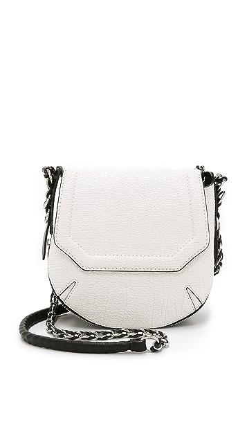Rag & Bone Bradbury Mini Flap Chain Hobo Bag