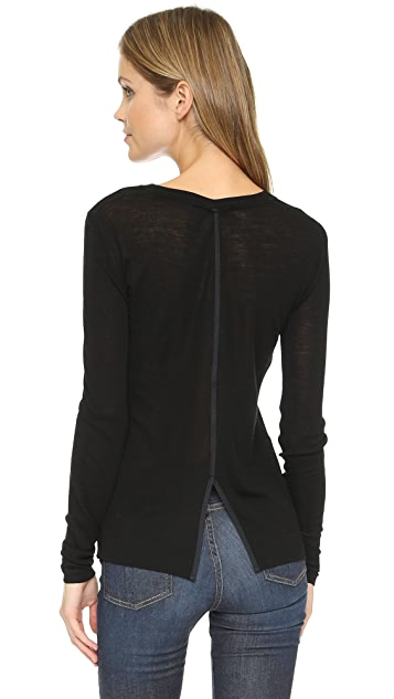 Rag & Bone Elise Long Sleeve Tee
