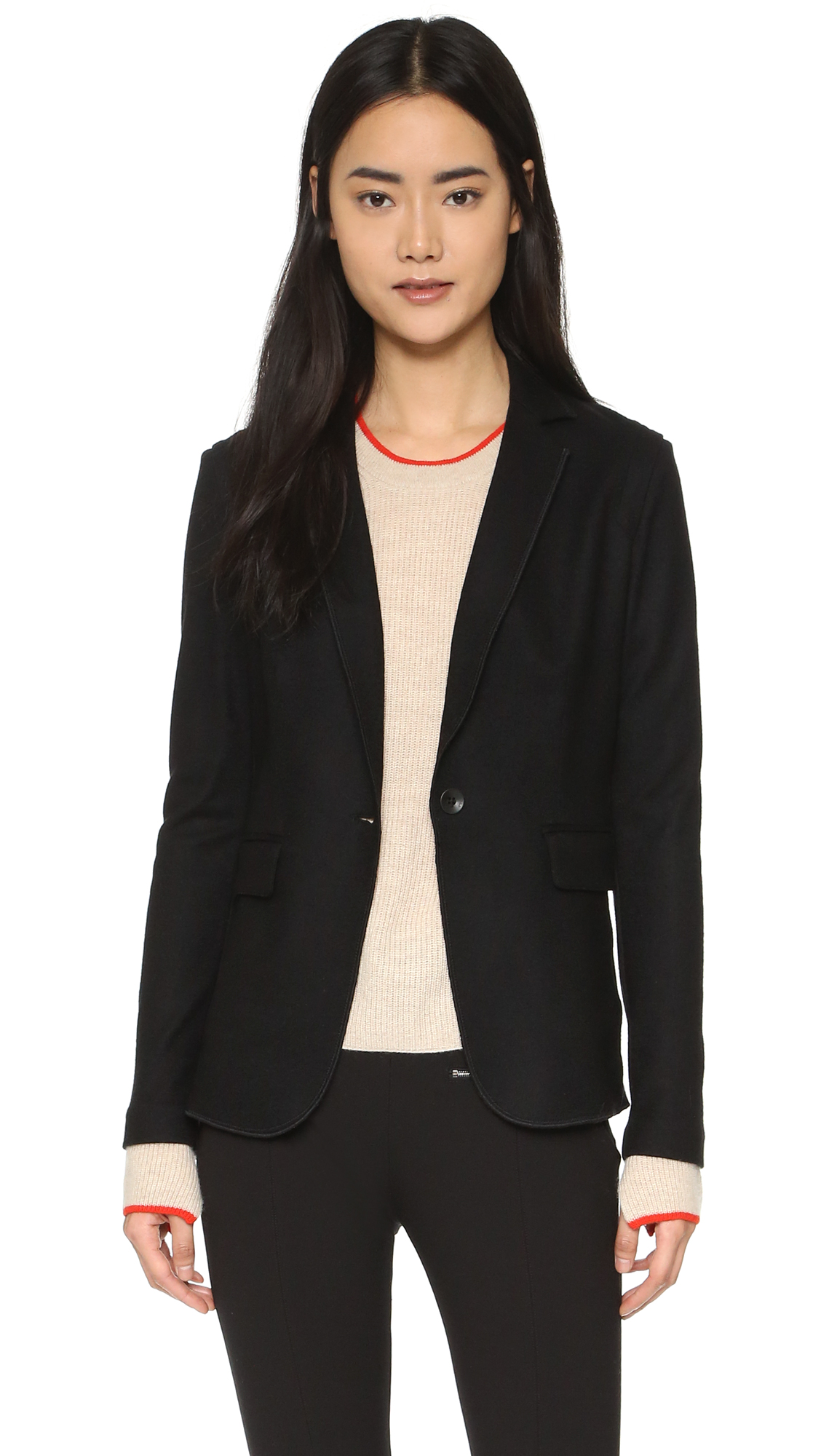Rag & Bone Club Jacket - Black