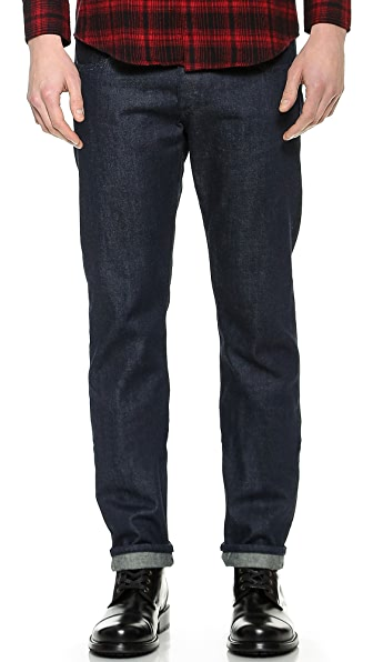 Rag & Bone Standard Issue Fit 3 Tonal Selvedge Jeans