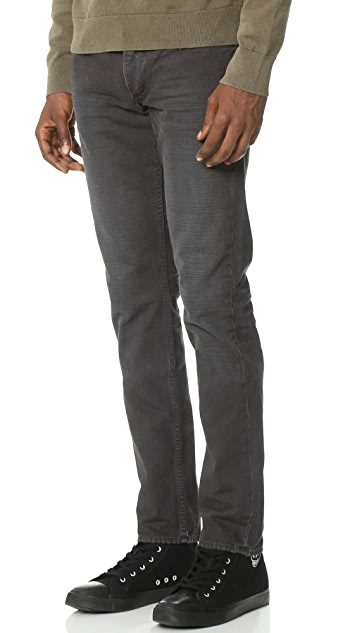 Rag & Bone Standard Issue Standard Issue Fit 2 Canvas Jeans