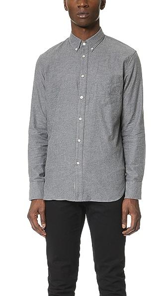 Rag & Bone Standard Issue Standard Issue Lightweight Flannel Shirt