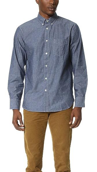 Rag & Bone Standard Issue Standard Issue Chambray Shirt