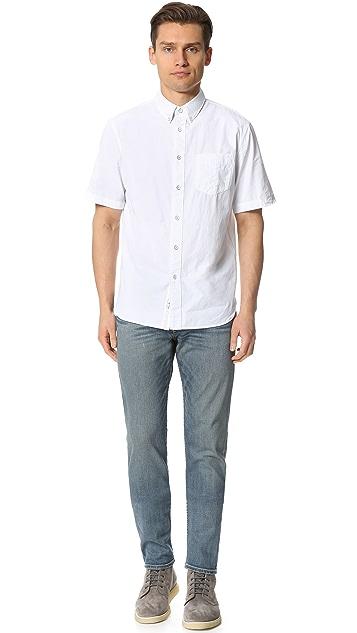 Rag & Bone Standard Issue Short Sleeve Standard Issue Shirt