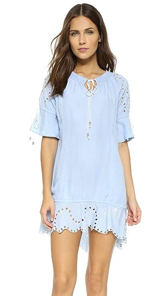 Rahicali Mini Dress - Blue