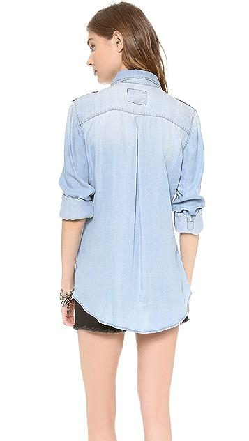 RAILS Oversized Denim Shirt