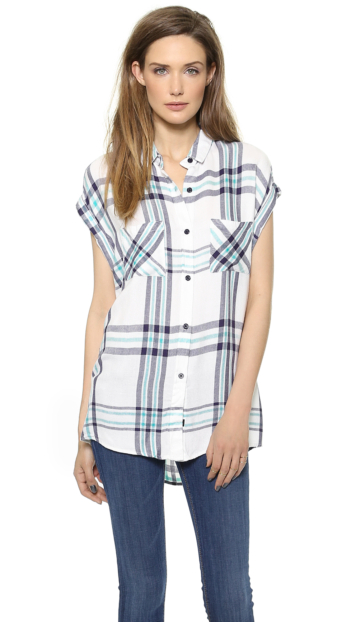 546aa7d6e RAILS Britt Button Down Shirt | SHOPBOP