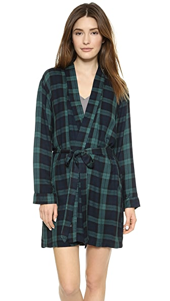RAILS Plaid Robe