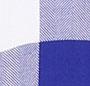 Cobalt/White Check