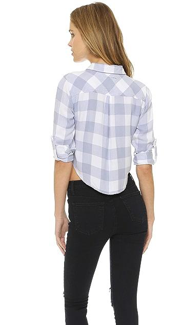 RAILS Rian Cropped Button Down Shirt