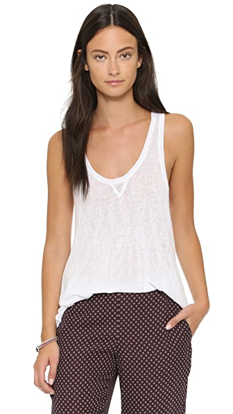 Rails Poppy Tank - White