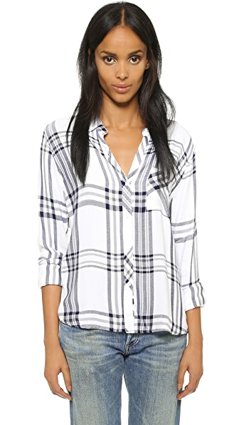 RAILS Hunter Long Sleeve Button Down Blouse
