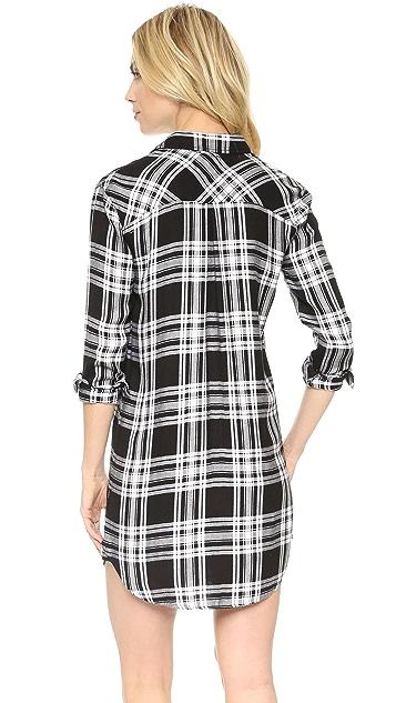 RAILS Sawyer Plaid Button Down Shirtdress