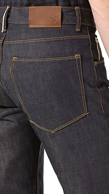Raleigh Denim Jones Original Raw Selvedge Jeans