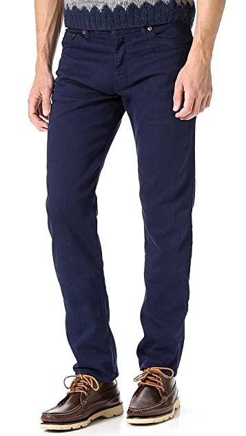 Raleigh Denim Alexander Slim Straight Jeans