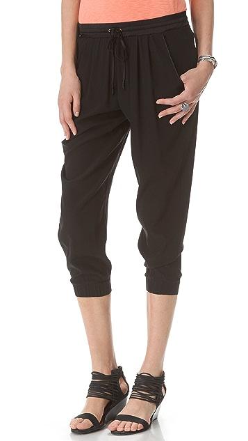 Ramy Brook Drawstring Cropped Pants