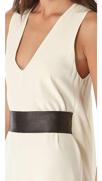Ramy Brook Aubrey Dress with Leather Belt