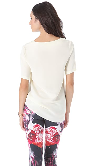 Ramy Brook Kate V Neck Top