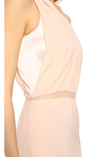 Ramy Brook Florence One Shoulder Gown