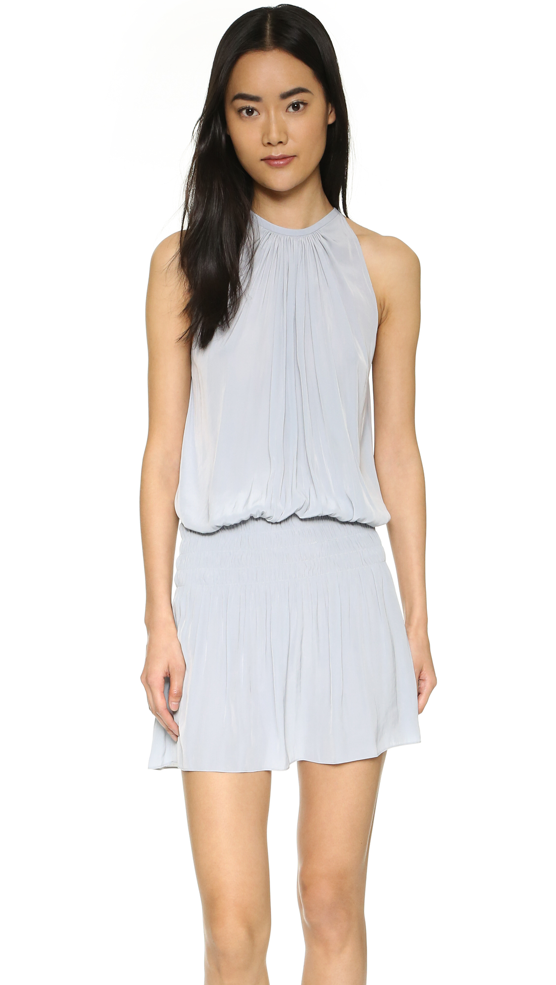 Ramy Brook Paris Sleeveless Dress - Silver
