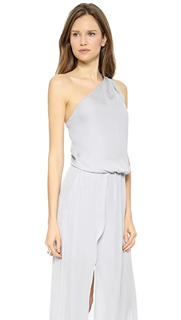 Ramy Brook Nice One Shoulder Gown