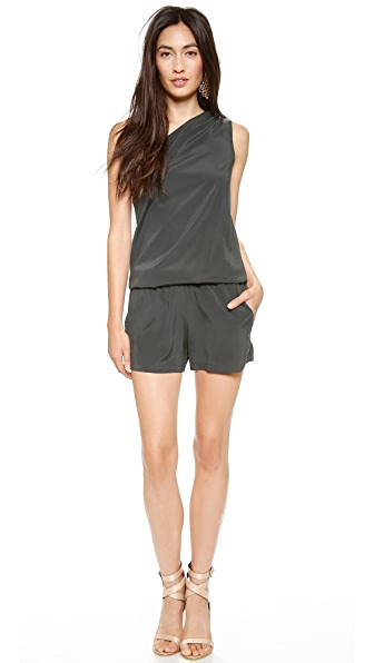 Ramy Brook Lulu One Shoulder Romper