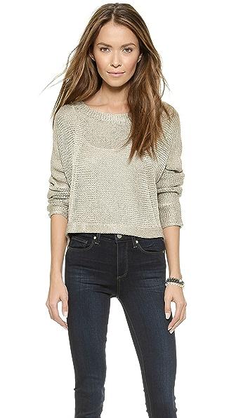 Ramy Brook Jewel Cropped Sweater