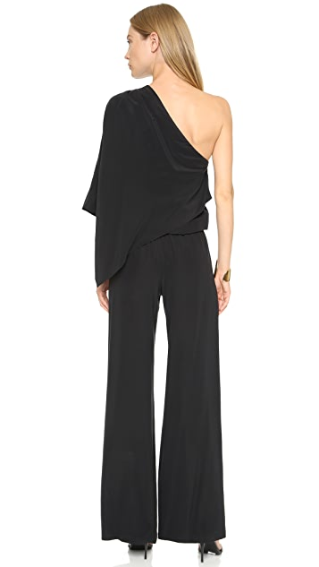 Ramy Brook Olsen Silk Jumpsuit