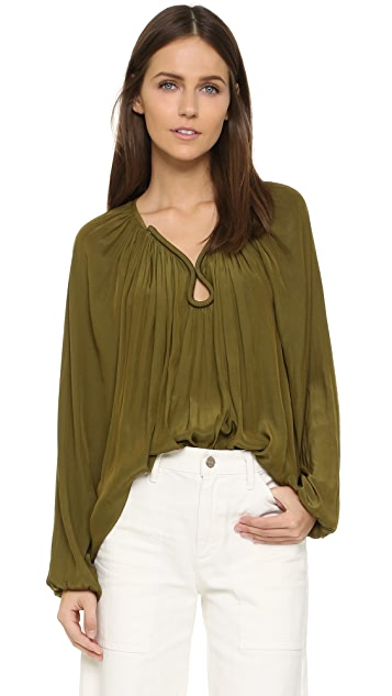 Ramy Brook Valentina Long Sleeve Top