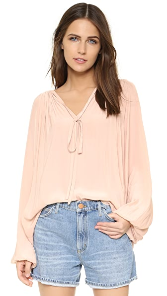 Ramy Brook Paris Blouse - Blush
