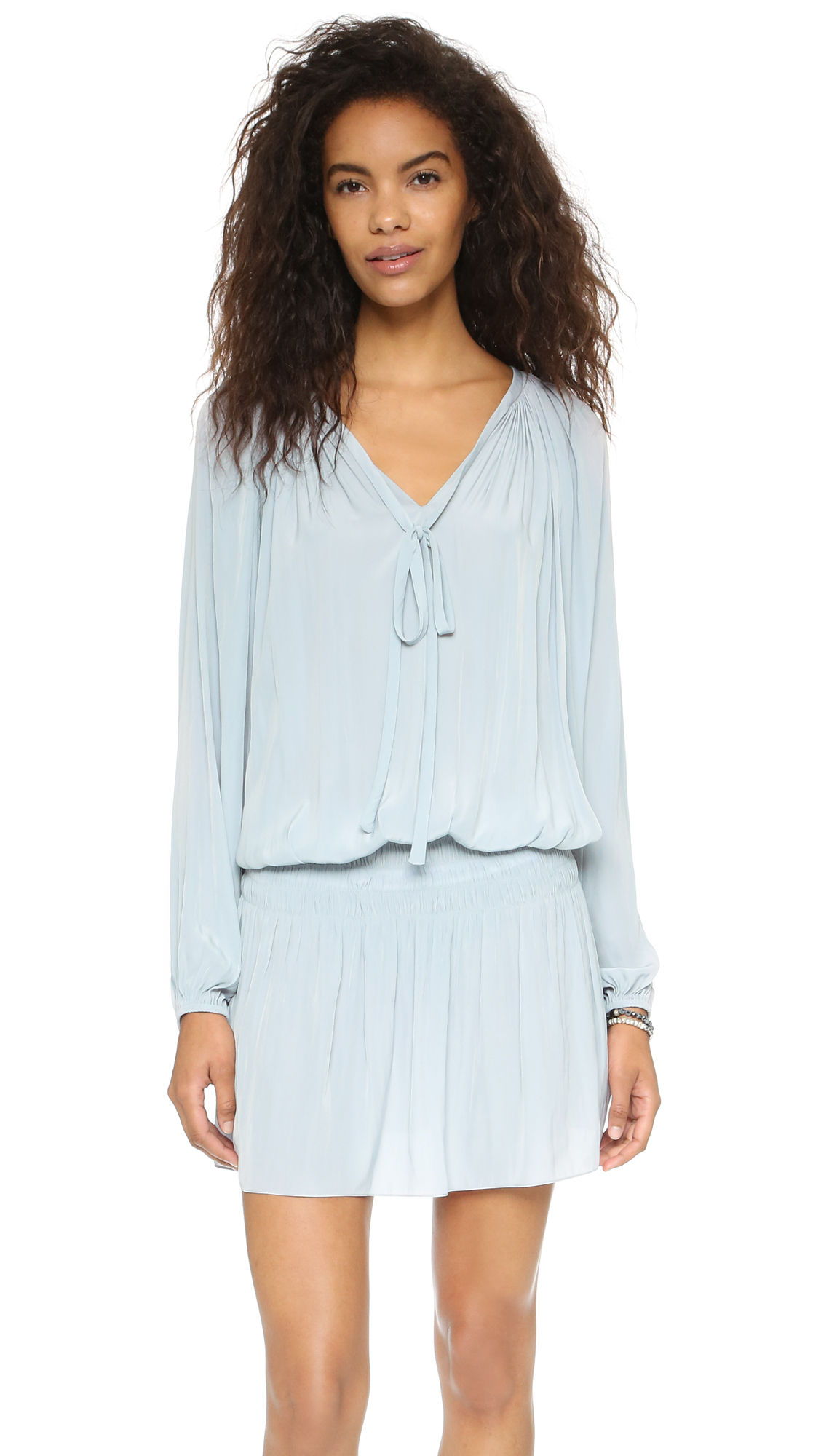 Ramy Brook Paris Dress - Silver