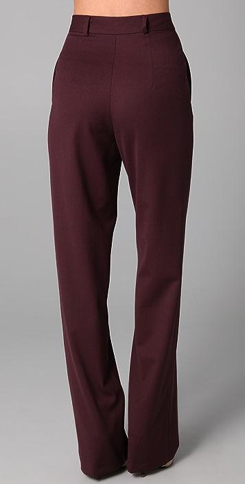 Raoul High Waisted Wide Leg Pants