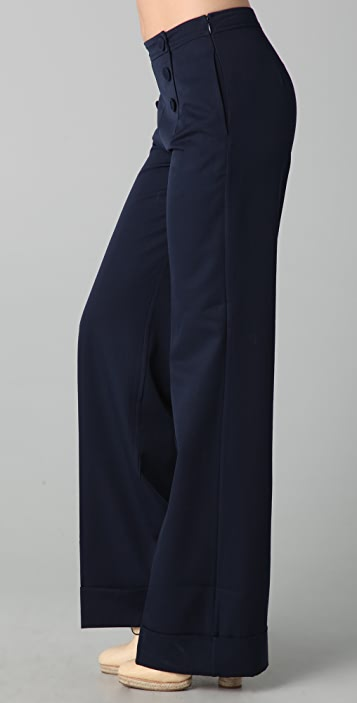 Raoul Fit 'N Flare Sailor Pants