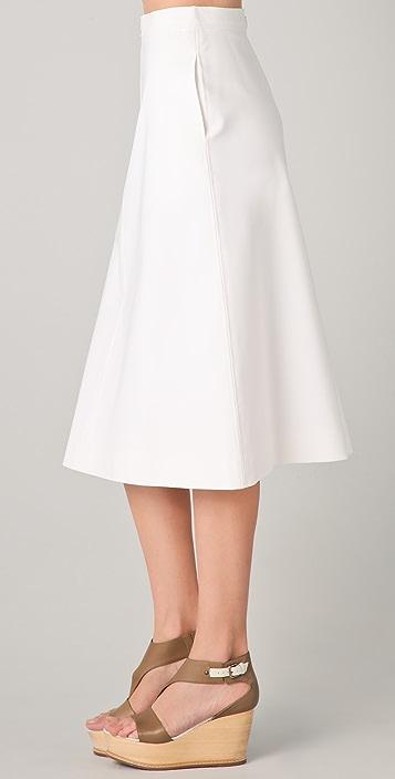 Raoul Midi Skirt