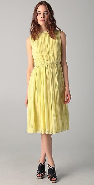 Raoul Icon Chiffon Midi Dress