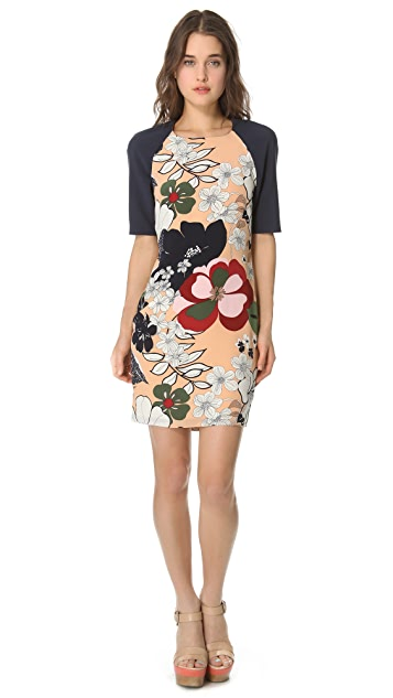 Raoul Structured Sleeve Dress