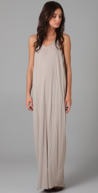 Raquel Allegra T Back Maxi Dress