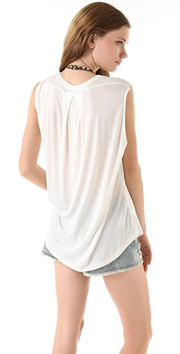 Raquel Allegra Sleeveless Tee